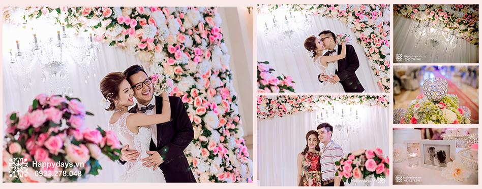 Backdrop chụp hình được thiết kế theo ý tưởng khách hàng